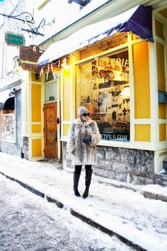 10 Places to Eat & Shop in Québec City | The Boston Fashionista