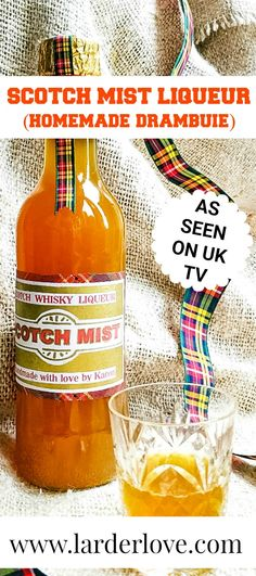 Scotch Mist Liqueur (homemade Drambuie) is so like the real thing, the perfect winter tipple and a great wee gift too. #homemadeliqueurs #whisky #scottishrecipes #foodiegiftsforchristmas #larderlove Kirsties Handmade Christmas, Christmas Gifts, Scottish Heather, Scottish Recipes, Uk Tv, Liqueurs, Larder, Fennel Seeds, Scotch Whisky