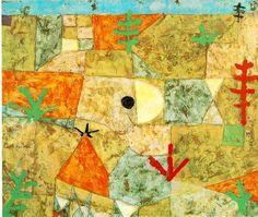 Southern Gardens, Paul Klee