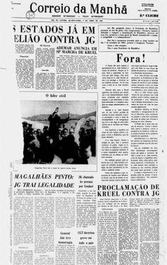 Farsa e tragédia: em 19 capas, como a imprensa disse sim ao golpe de 1964 - UOL