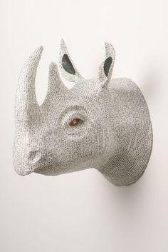 #anthrofave Anthropologie Savannah Story Bust, Rhino
