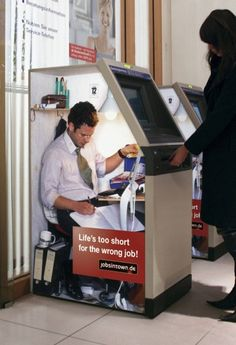 cash machine creative job ad