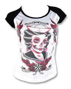 Liquor Brand DARK SEAS Damen T-Shirts