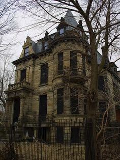 real haunted houses - Google Search