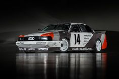This Audi 200 Quattro Trans-Am #TA4, driven in its time by Hans-Joachim Stuck and Walter Röhrl, played a significant role in Audi's 1988 Trans-Am Championship.