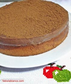 Bolo Mousse de Chocolate Dukan | Fabíola Bianco