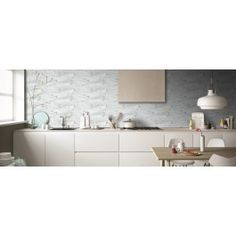 Bianchi Stone Effect Wall Tile from Tile Mountain only per tile or per sqm. Order a free cut sample, dispatched today - receive your tiles tomorrow Brick Tiles Kitchen, Splashback Tiles, Rear Extension, Ceramic Wall Tiles, Kitchen Worktop, Under Cabinet, Wall And Floor Tiles, West End, Downlights