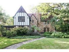 Brick Tudor style home for sale in Riverside IL
