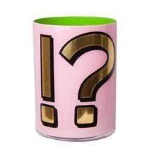 Alphabet Brush Pot - !? - Bridie Hall