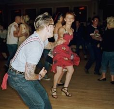 swing dancing! <3 <3 i need a swing partner for rebel night too... =[