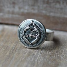 Symbol meaning and history jewelry,handmade by ALM Wax Seal Ring, Wax Seals, Handmade Jewelry, Silver Rings, Symbols, History, Historia, Handmade Jewellery, Jewellery Making