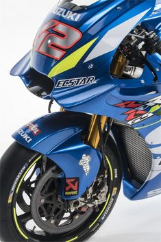 MotoGP2019 Suzuki GSX-RR Galería | Noticias de bicicletas que te interesan. Suzuki Gsx, Suzuki Bikes, Suzuki Motorcycle, Bike Design, Cbr, Sport Bikes, Motogp, Concept Cars, Bicycle Helmet