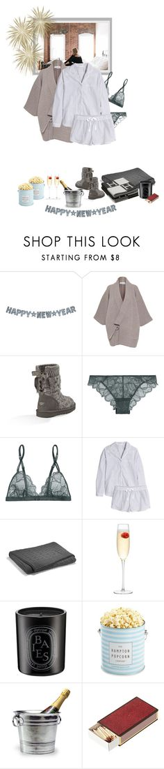 """""""May all your dreams come true in 2016 - Happy New Year..."""" by matilda66 ❤ liked on Polyvore featuring J.W. Anderson, UGG Australia, La Perla, H&M, Ralph Lauren, LSA International, Diptyque, The Hampton Popcorn Company, Match and OKA"""