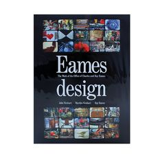 Eames Design book  Eames Design is a chronological study of the work of the extraordinarily prolific husband-and-wife team whose creative imprint revolutionized the look of postwar American society. Filled with thousands of images and indepth timelines, this book is a must have for any Eames or design enthusiast.