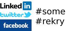 Haluatko vinkkejä oman osaamisesi brändäämiseen ja hyödynnä samalla Facebook työnhaussa. Some rekry -ryhmä: Hae töitä somepalveluiden avulla avulla: https://www.facebook.com/groups/somerekry/  LinkedIn Twitter facebook rekry some