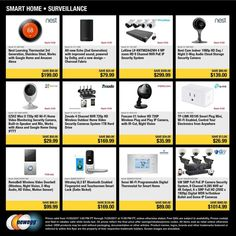 Newegg Black Friday 2017 Ads and Deals Get all of the details on Newegg Black Friday right here! Plus, see the official Newegg Black Friday ad to see what the hottest deals of the holiday s. Night Clouds, New Egg, Black Friday Ads, Home Surveillance, Security Camera, Smart Home, Coupons, Holiday, Check