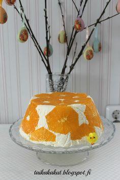 Tarun Taikakakut: Appelsiinicharlotta Cake, Desserts, Food, Tailgate Desserts, Deserts, Kuchen, Essen, Postres, Meals