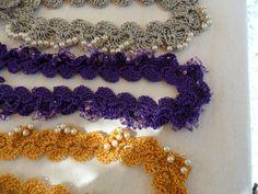 colares em fio de seda e miçangas em Evento General Osório (ano 2014)