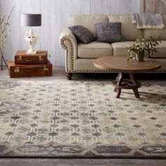 Complete Your Vintage Chic Home Decor With Mohawk Studio S Lakeside Cottage Area Rug By Patina