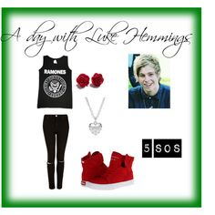 A day with Luke Hemmings <3 (please give cred if you repin)