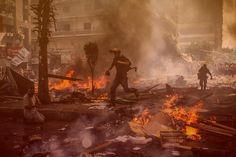 Military attacks people in Egypt. @Rangga Cipta