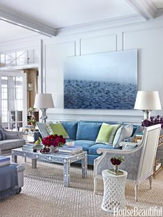Ashley Whittaker Greenwich House Interior Design Beautiful Living Room Inspiration