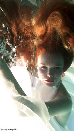 "♥ ""Pause"" - Tarzana, CA. Photo by © 2008 waveguider. UNDERWATER! ADORE THIS SHOT!"