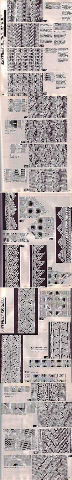 Patrones de agujas de tejer - mucho | Housewives