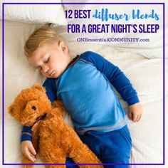 best diffuser blends for sleep plus list of the best essential oils for sleep so you can make your own rollerballs and diffuser recipes Toddler Sleep, Kids Sleep, Baby Sleep, Child Sleep, Toddler Play, Best Essential Oil Diffuser, Essential Oils For Sleep, Kids And Parenting, Parenting Hacks