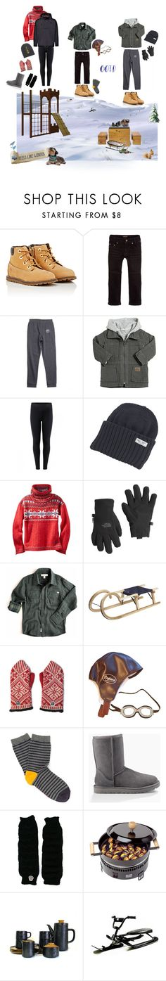 """Snow Day with My Boys"" by philomenesworld ❤ liked on Polyvore featuring Timberland, Roberto Cavalli, Vans, Sticky-Fudge, The North Face, Appaman, CB2, Frauenschuh, UGG and Moncler"