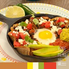 #Postcards from #Mexico - and what better Than a desayuno of huevos rancheros my…