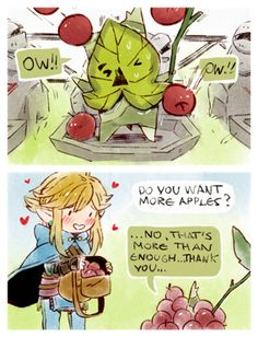 I love the koroks~ Even if they are a bitch to find >.>