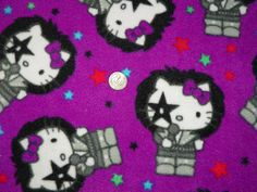 Hello Kitty Fleece Blanket for Baby Child Teen or by Susieskorner, $26.00
