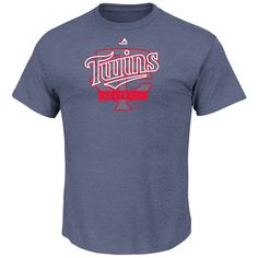 Minnesota Twins Majestic First Among Equals T-Shirt - Navy - $22.39