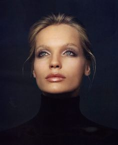 Veruschka off the runway.... Iconic fashion model of the sixties and seventies.