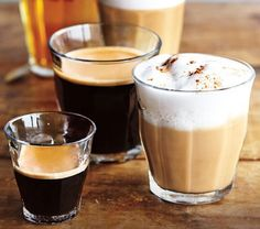 Start your day off right with a smooth shot of espresso out of a Duralex glass.