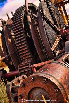 Rusty Machinery | by Birdman of El Paso