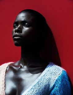 Stunning use of color in this Vogue Deutsch 's September editorial. Photos by Julia Noni. Model is Jeneil Williams. Beautiful Black Women, Beautiful Models, Simply Beautiful, Beautiful People, Julia Noni, Editorial Photography, Fashion Photography, Beauty Photography, Portrait Photography