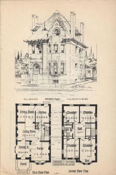 1000 turn of the century houses with illustrations and floor plans herbert c chivers