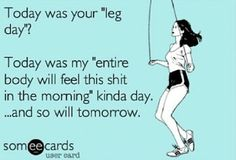 Yes! Honestly we never have specific days for anything....its the entire body all the time #crossfitprobs