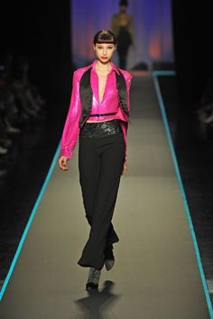 Jean Paul Gaultier Fall 2008 Couture Fashion Show - Alexandra Agoston