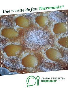 Tarte aux poires par Loanecameron. Une recette de fan à retrouver dans la catégorie Desserts & Confiseries sur www.espace-recettes.fr, de Thermomix<sup>®</sup>.