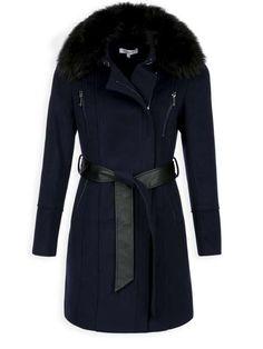 Principles Size 10 Orange Trench Mac Coat #fashion #clothing