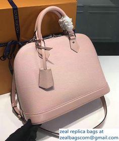 Louis Vuitton Epi Alma PM Bag M93595 Pink