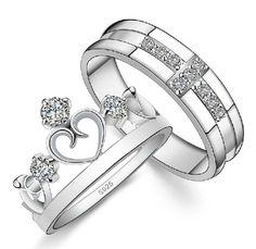 anillos de matrimonio con diamantes grandes - Buscar con Google