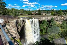 Gadsden, Alabama, USA - May Noccalula Falls after a s , Gadsden Alabama, Outdoor Theater, Free Travel, Usa Travel, Beautiful Waterfalls, Great View, Natural Wonders, Cool Places To Visit, Trip Planning