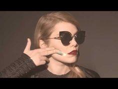 53109d0a10be Fendi EyeShine Sunglasses Collection Film Starring Coeur de Pirate