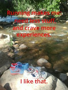 Exactly why I started running...cheapest, yet, most rewarding...and you can go so many places. So grateful to have the health to run.