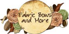 Fabric Bows and More: Felt Flower Headband Tutorial by Shad and Lizzie Fabric Bows and More: Felt Flower Headband Tutorial by Shad and Lizzie Fabric Bow Tutorial, Hair Bow Tutorial, Fabric Ribbon, Ribbon Bows, Ribbons, Ribbon Flower, Thin Ribbon, Felt Bows, Burlap Ribbon