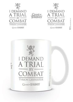 Game of Thrones - Trial By Combat - Ceramic Coffee Mug